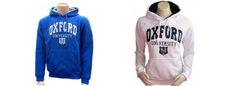 Sudaderas Oxford