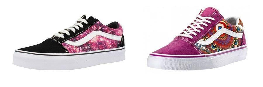 Zapatillas Vans para mujeres